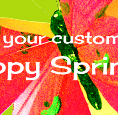 Wish Your Customers a Happy Spring