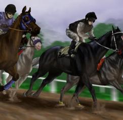 Horsin' Around with Kentucky Derby Artwork