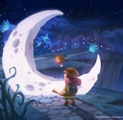 30 Enchanting Moon Designs