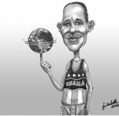5 Barack Obama Caricatures