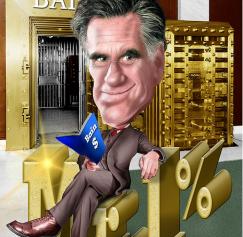 5 Mitt Romney Caricatures