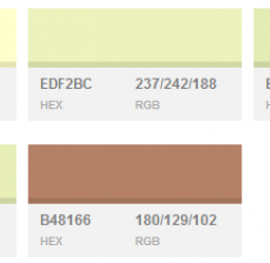 30 New and Fresh Color Palettes for Graphic Design