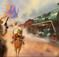 10 Railroad and Train Designs