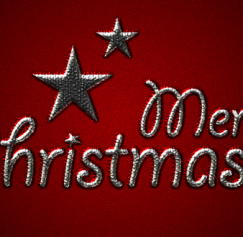 10 Crazy-Good Christmas Text Effect Tutorials