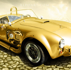 10 Awesome Automobile Photoshop Tutorials