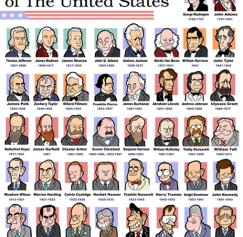 10 Funny Designs Featuring U.S. Presidents