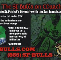 Customer Appreciation: San Francisco Bulls
