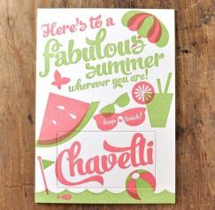 30 Summer Greeting Card and Invitation Designs