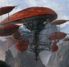 25 Fantastic Fantasy Flying Machines
