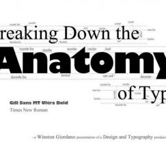 10 Cool Typography Infographics