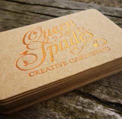 10 Elegant Uncoated Business Card Designs