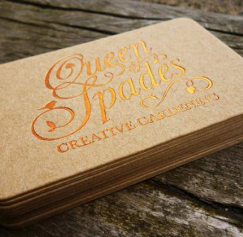 10 Elegant Uncoated Business Card Designs