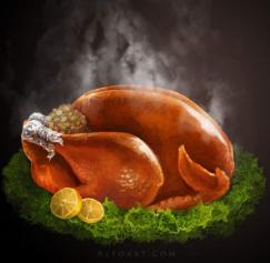 5 Thanksgiving Photoshop Tutorials