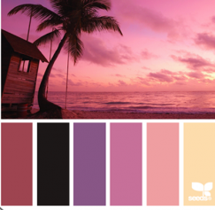 30 Sexy Valentine's Day Color Palettes