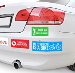 Are Bumper Stickers Still Effective Marketing Tools?