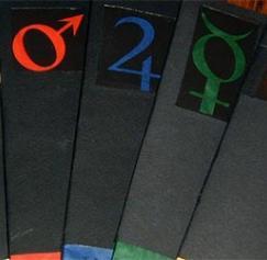 Print Elegant Velvet Paper Bookmarks