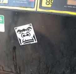 Gas Pump Stickers For Political Advocacy