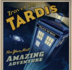 'Doctor Who,' Tori Amos posters and other cool designs