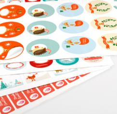 Print Your Own Custom Gift Labels This Holiday Season