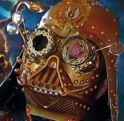 Cool postcards, including Steampunk Darth Vader and more