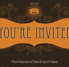 Print Halloween Party Invitations Quick and Easy
