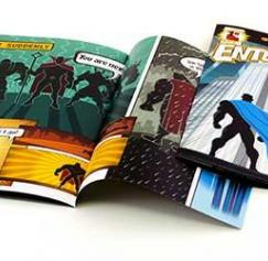 print your own comic books online