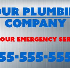 plumbing heating cooling sticker