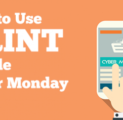 Cyber Monday print marketing