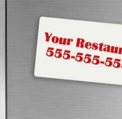 restaurant magnet marketing