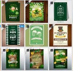 St. Patrick's Day flyers