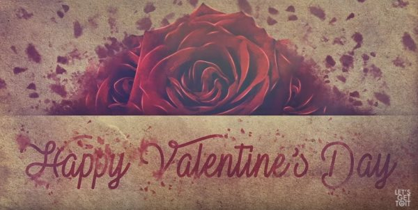 Valentine's Day wallpaper tutorial