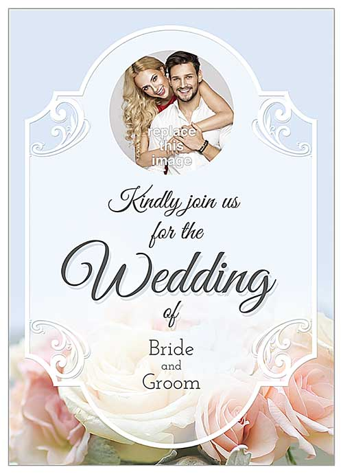 10 creative wedding invitation card ideas psprint blog floral wedding stopboris Choice Image