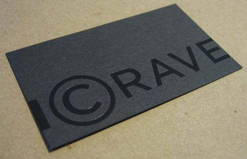 glossy business cards vs matte