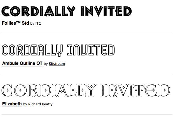 Good Font Combinations For Wedding Invitations: Great Font Combinations For Your Wedding Invitations