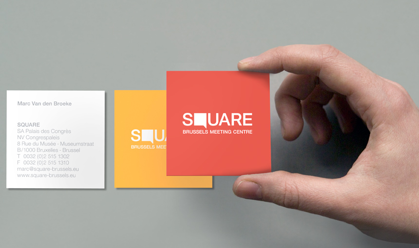 5 Eye Catching Square Business Cards