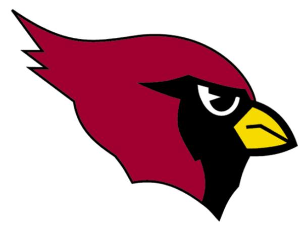 how to draw arizona cardinals logo fotball