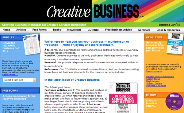 Creative Business The Business Resource for Design & Creative Service Organiza_2012-08-01_13-17-04