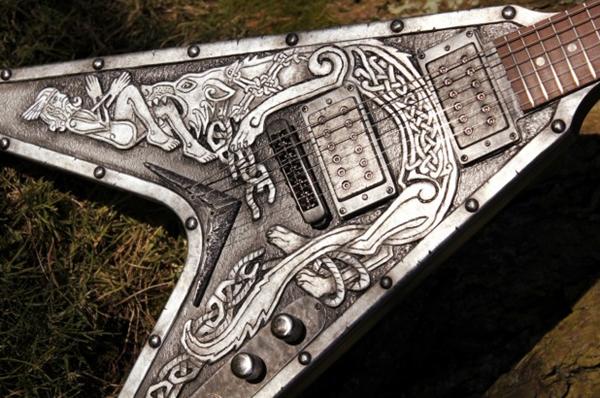 Unique Guitar Designs  Free Home Design