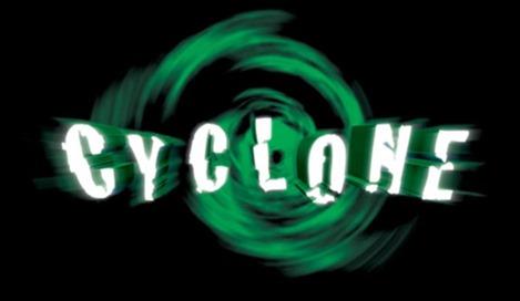 30 screaming roller coaster logos
