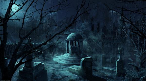 Burkholder Cemetery at night alone Part 1  YouTube