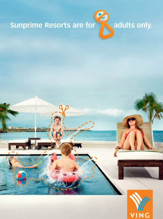 10 Cool Poolside Ad Designs