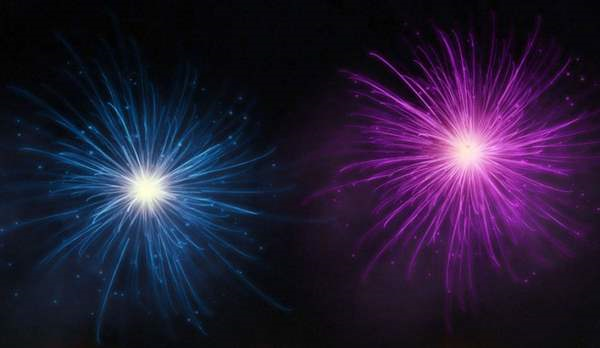 how to create a firework in photoshop