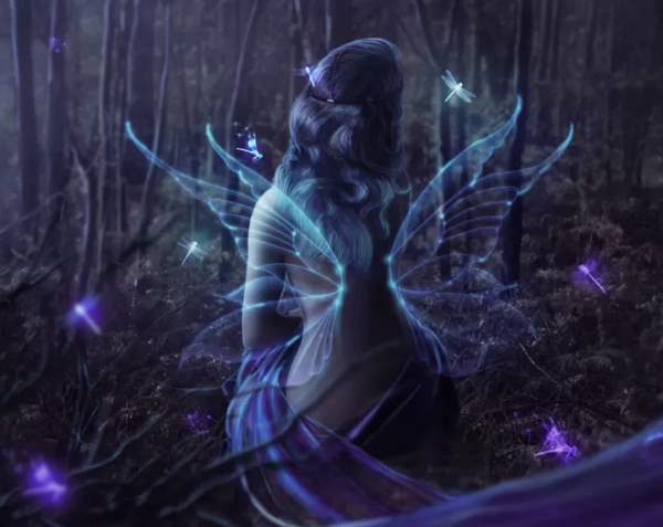 Playing with Glows and Blurs – Fairy in the Woods Photoshop Tutorial Photoshop_2014-07-30_14-50-28