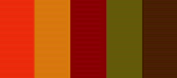 thanksgiving color scheme