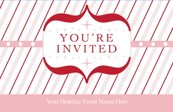 you�re invited template